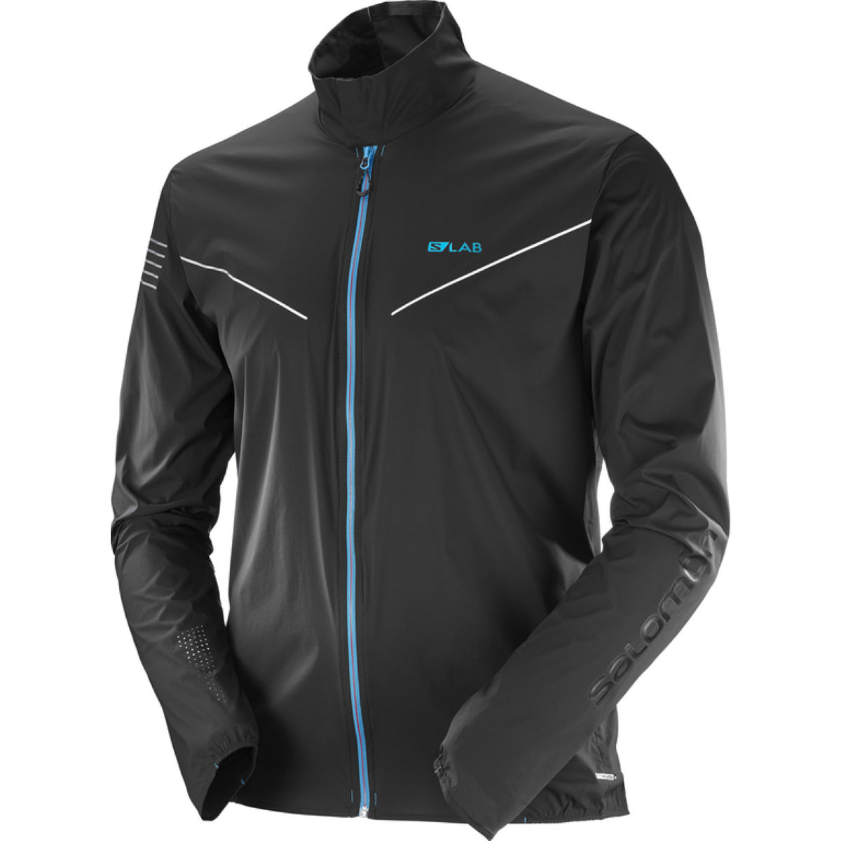Veste Salomon S-Lab Light - M Noir Vestes de running coupe-vent