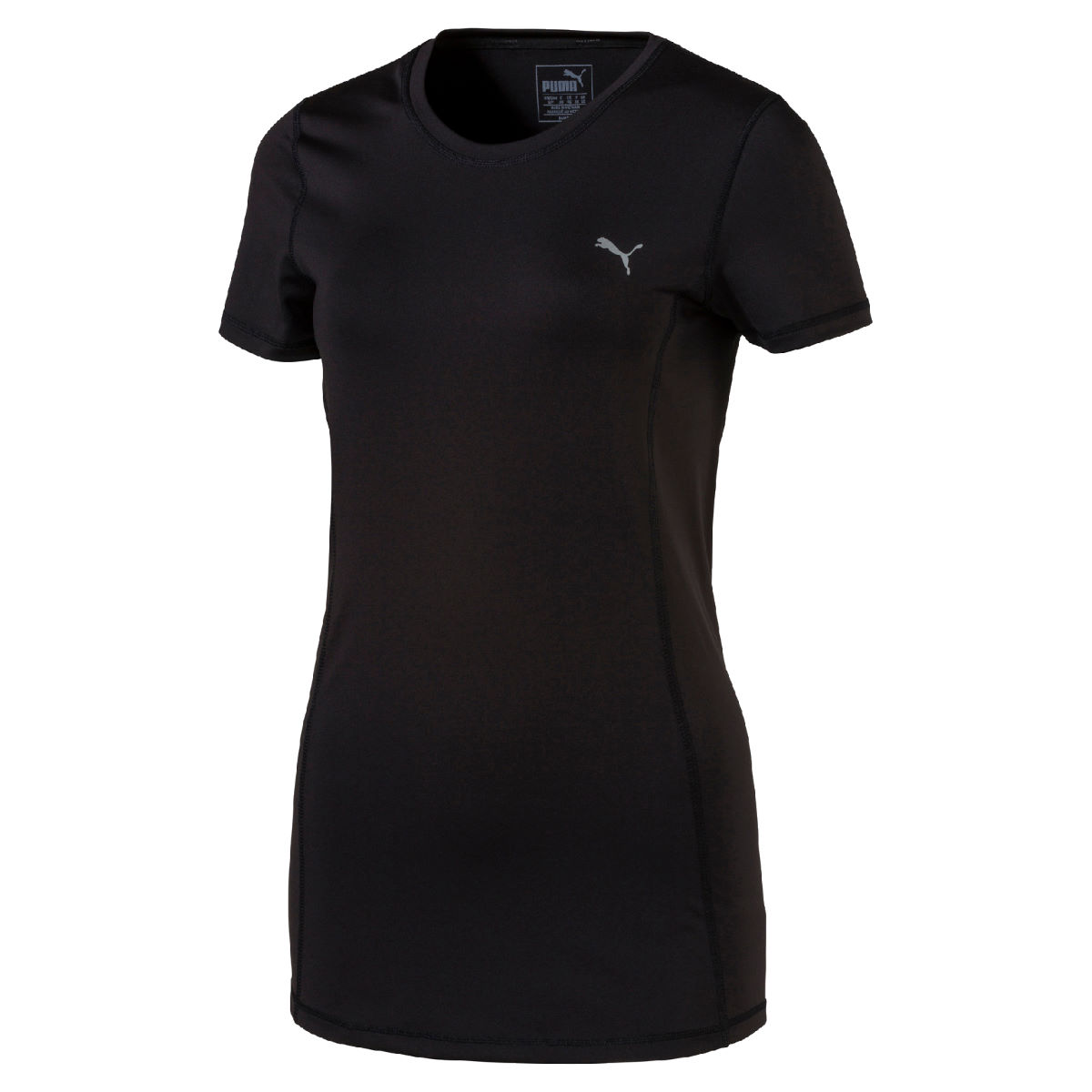 Puma Women's Essential Tee (SS17) - UK 14 Puma Black