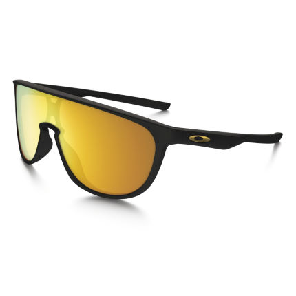 Oakley Trillbe Matte Black 24K Iridium Sunglasses