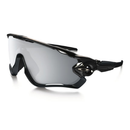 Oakley Jawbreaker Halo Black Chrome Iridium Sunglasses