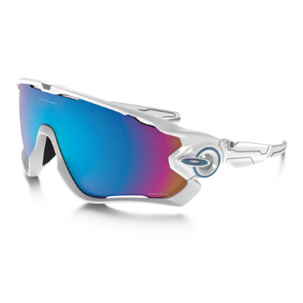 Oakley Jawbreaker Polished White Prizm Snow Sunglasses