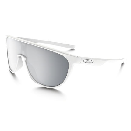 Oakley Trillbe Matte White Black Iridium Sunglasses