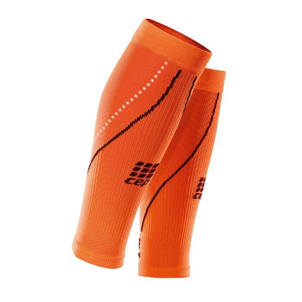 CEP Night Calf Sleeves 2.0 (Orange)
