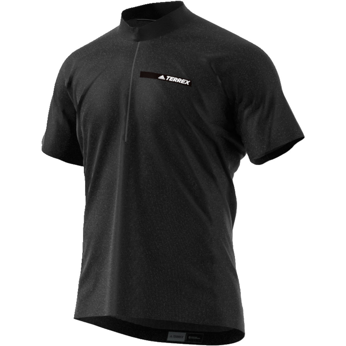 Maillot Adidas Agravic Windshirt (PE17) - S Noir Maillots Outdoor