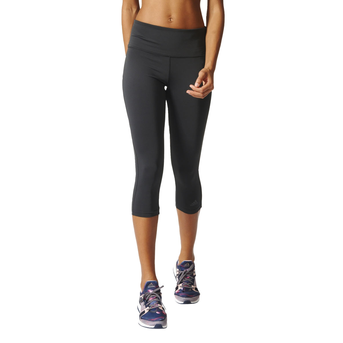 Adidas Womens D2M HR 34 Tight (SS17)   Running Tights
