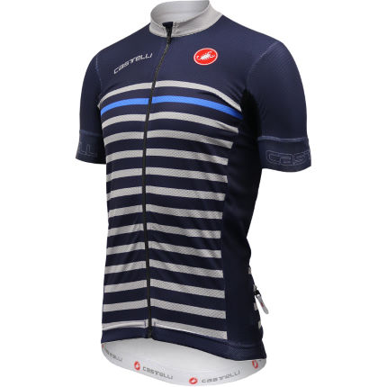 Castelli Exclusive Free Aero Race 4.1 Deep Blue Jersey