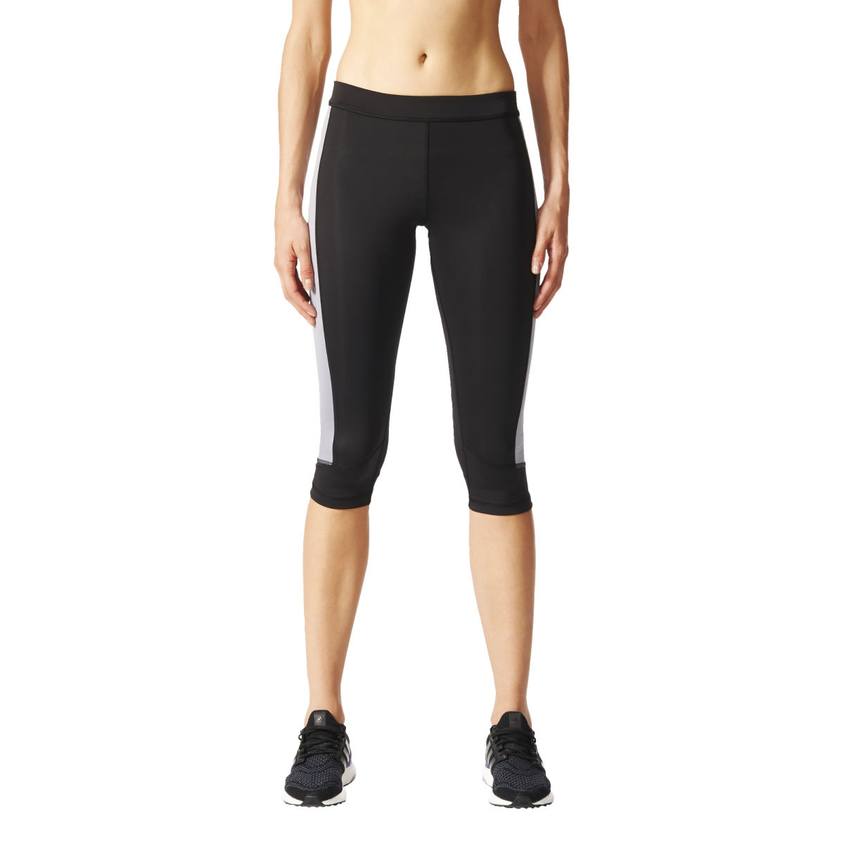 Adidas Womens Techfit Capri (SS17)   Running Tights