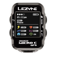 picture of Lezyne Micro Colour Cycle GPS with Mapping