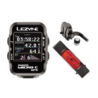 Lezyne Micro Colour Cycle GPS with Mapping HRSC Loaded