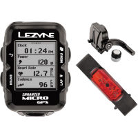 Lezyne Micro Cycle GPS with Mapping HRSC Loaded