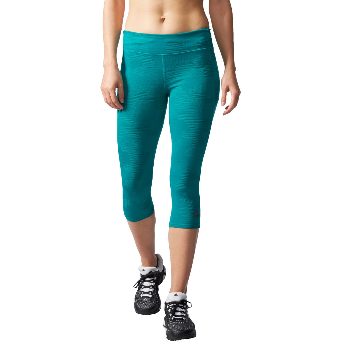 Adidas Womens Adistar ThreeQuarter Tights (SS16)   Running Tights