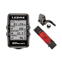 Lezyne Super Cycle GPS with Mapping HRCS Loaded