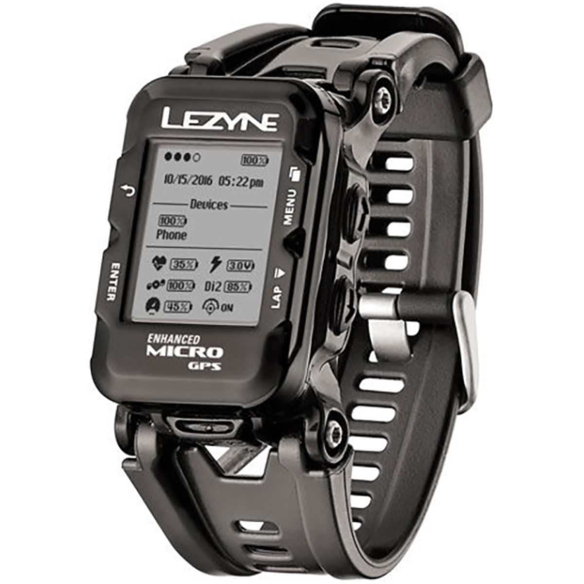 Lezyne Micro GPS Watch with Mapping