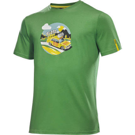 T-shirt Mavic SSC Yellow Car