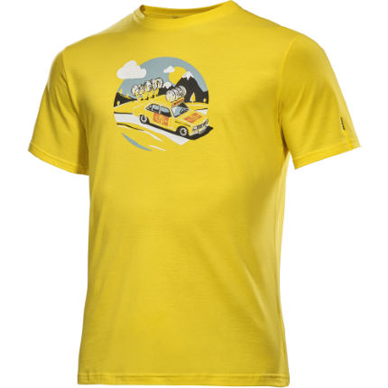 Mavic SSC Yellow Car T-shirt (LZ17)