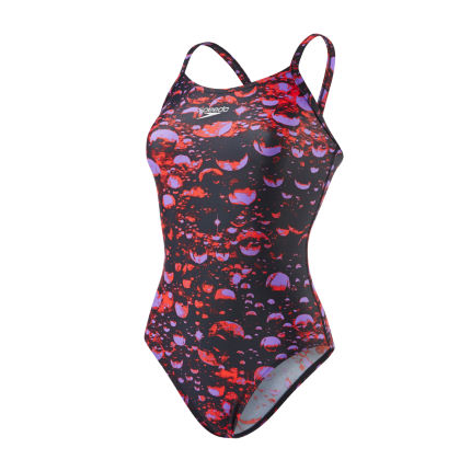 Bañador Speedo Microcosmos Placement Thinstrap Muscleback para mujer