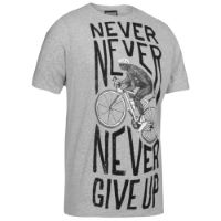 Cycology Never Give Up T-Shirt - Herr