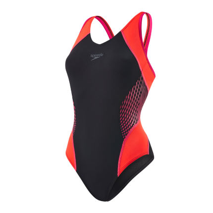 Speedo Fit Splice Muscleback Baddräkt