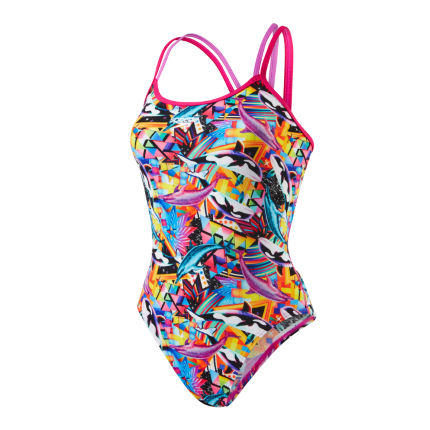 Speedo Chappelle O Love Double Crossback Badeanzug