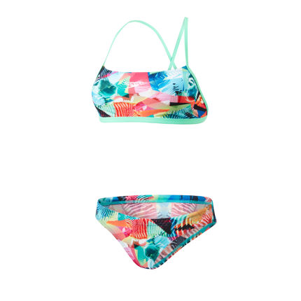 Speedo Women's Clash Attack 2 Piece Crossback