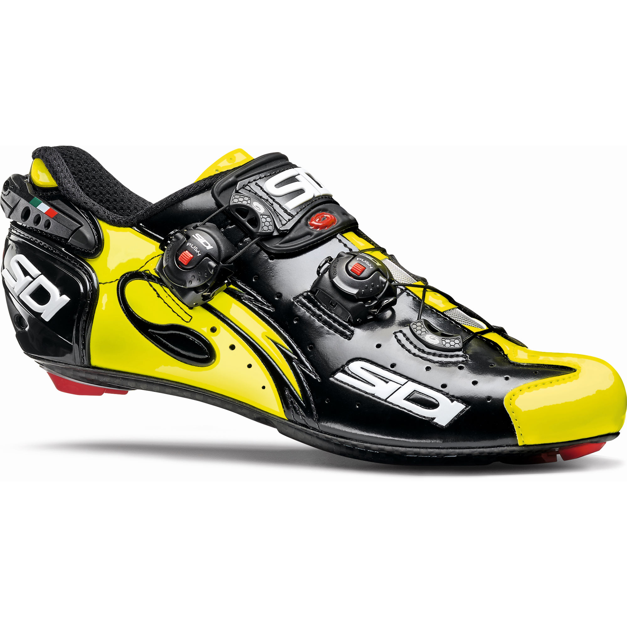 chaussures de route sidi wire carbon vernice road shoes wiggle france. Black Bedroom Furniture Sets. Home Design Ideas
