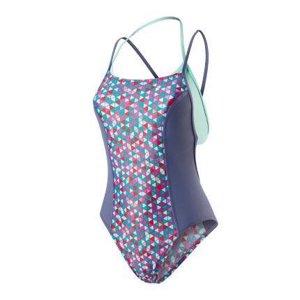 Speedo H2O Women's Astro Pop Loopback Swimsuit