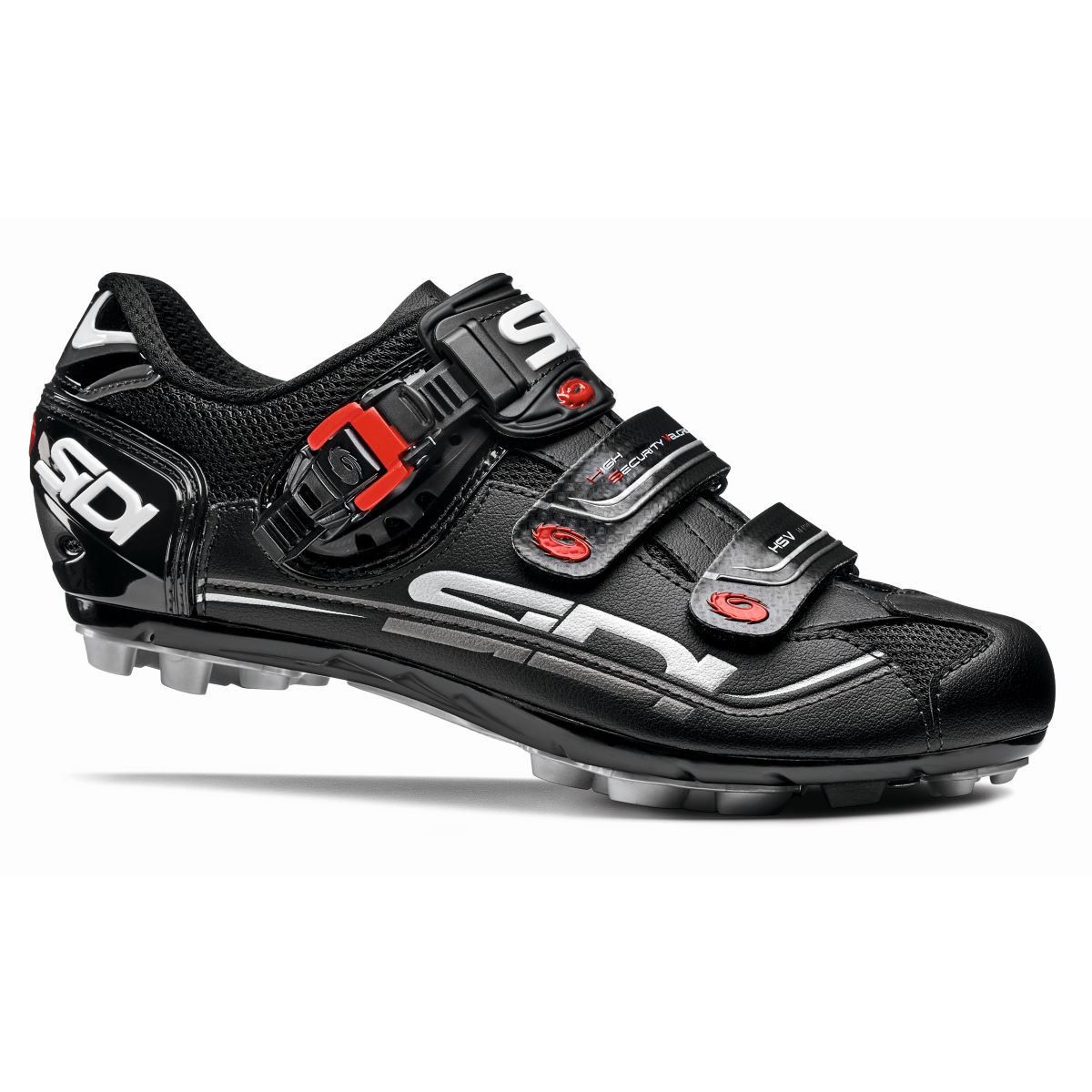 Sidi Eagle 7 MTB Shoes - 43 Black/Black | Offroad Shoes