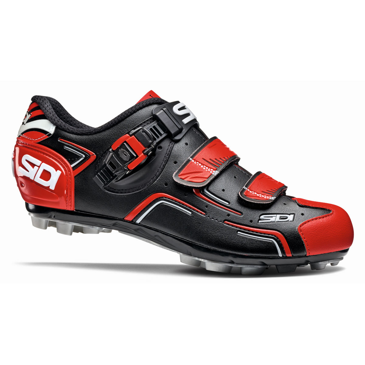 Sidi Buvel MTB Shoes - 39 Black/Red/White | Offroad Shoes