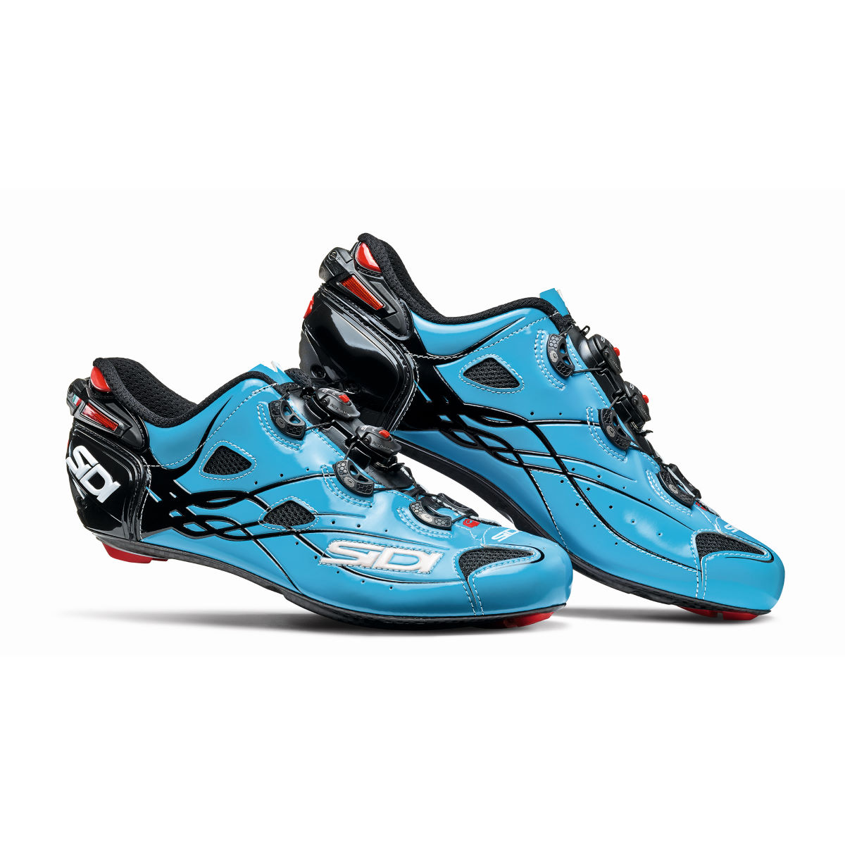 Chaussures de route Sidi Shot - 40,5 Blue Sky/Black