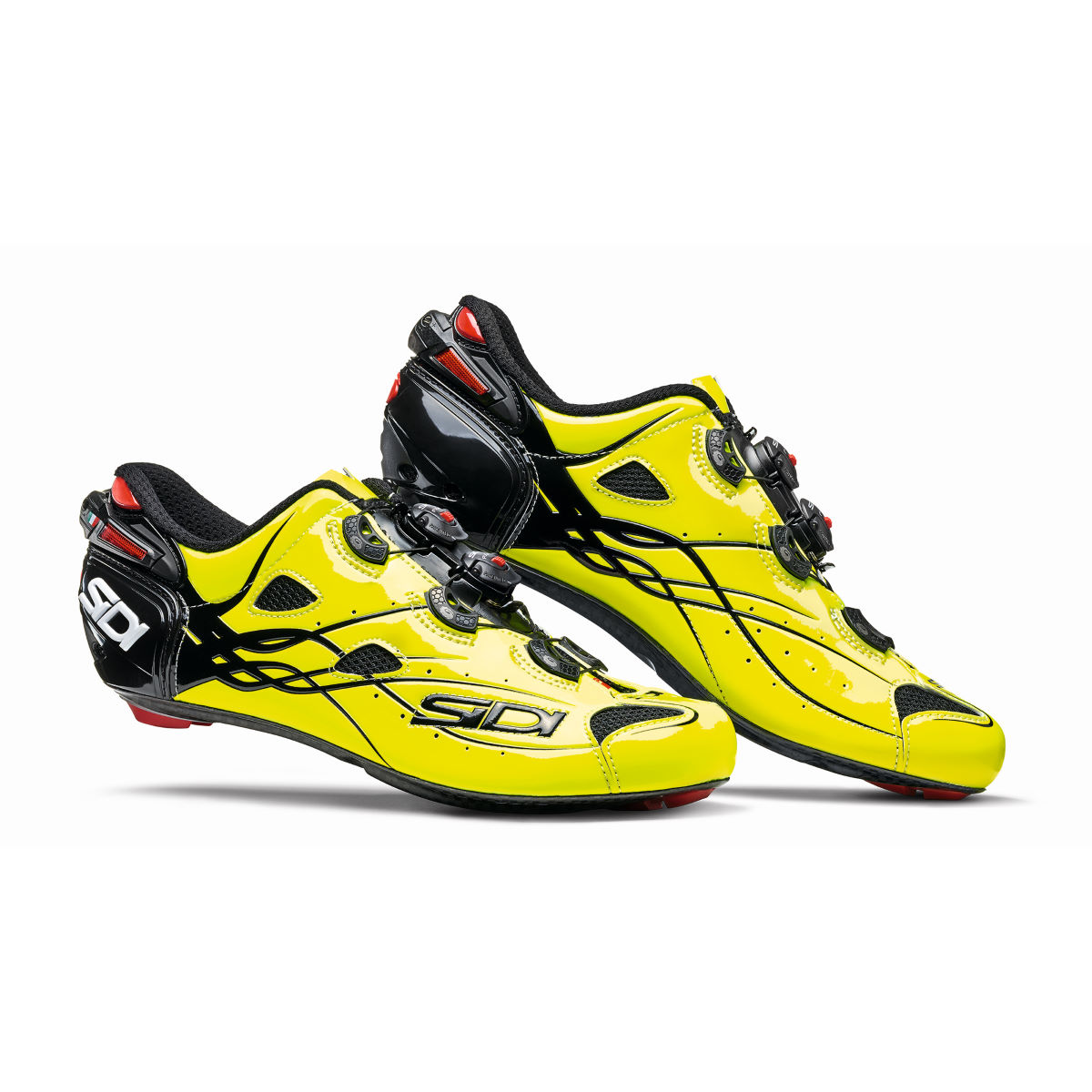 Chaussures de route Sidi Shot - 42,5 Yellow/Yellow