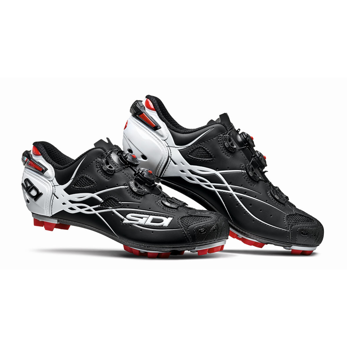 Chaussures VTT Sidi Tiger Carbon - EU 40 White - Red