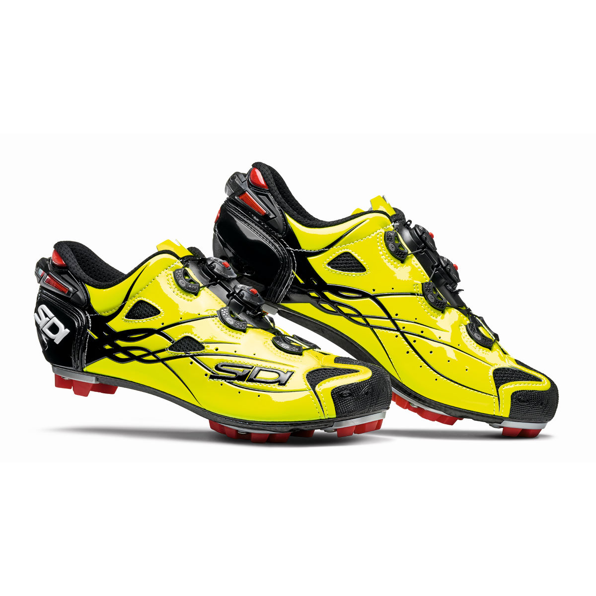 Chaussures VTT Sidi Tiger Carbon - 40,5 Yellow/Yellow
