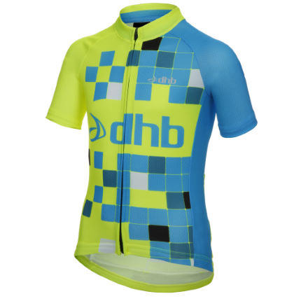 dhb Kids Short Sleeve Logo Jersey