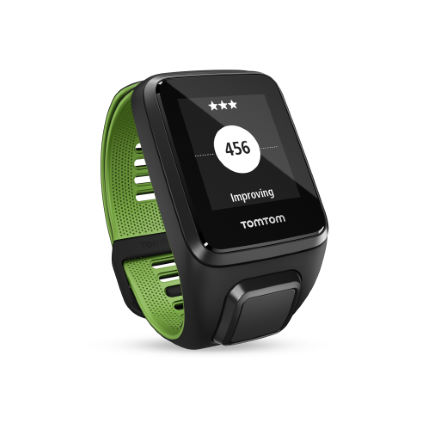 TomTom Runner 3 Cardio GPS Watch with Music