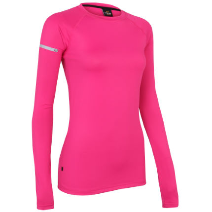 Wiggle wiggle essentials women 39 s long sleeve run top for Women s running shirts