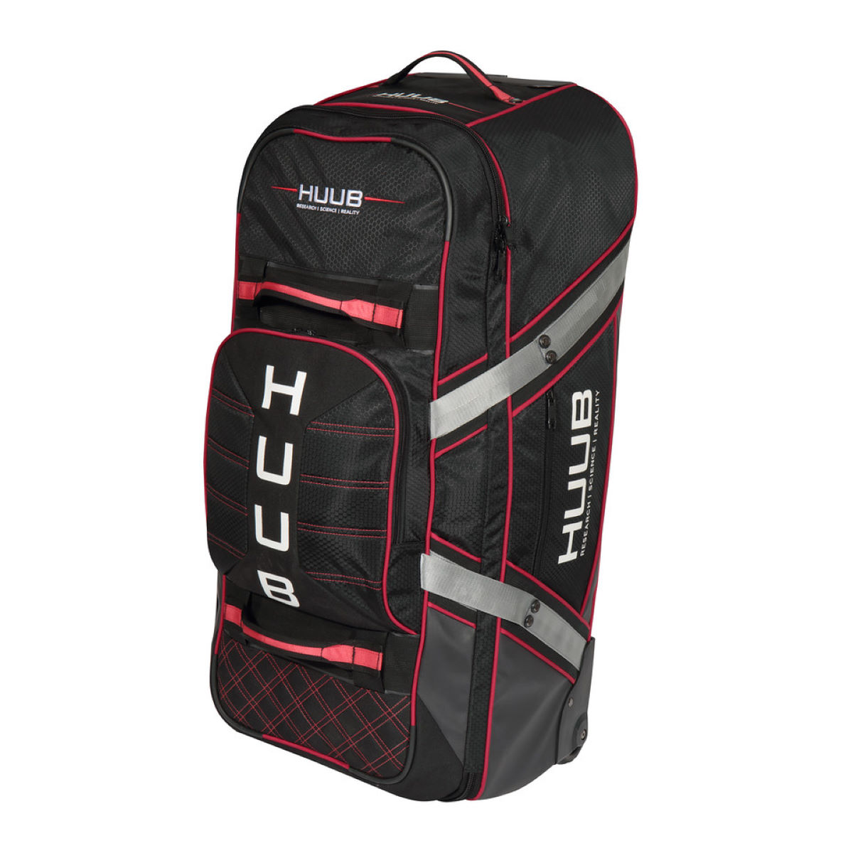 HUUB Wheelie Travel Bag - One Size Black | Rucksacks