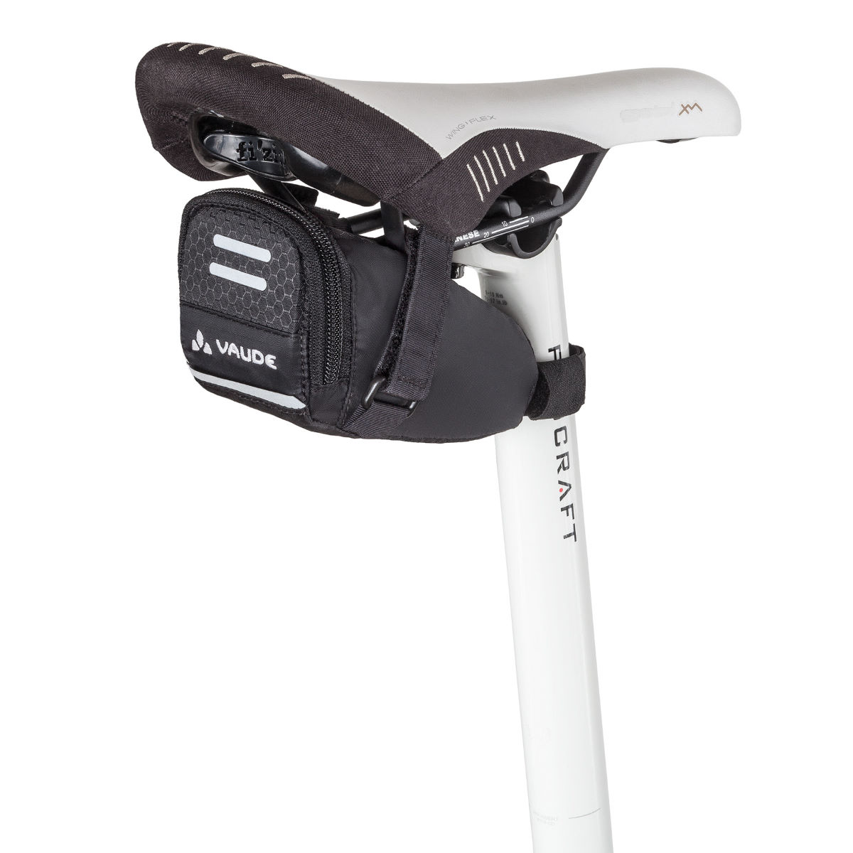 Sacoche de selle Vaude Race Light - Taille unique Noir