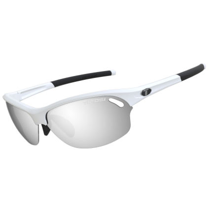 Tifosi Eyewear Wasp Matte White Fototec Light Night Lens