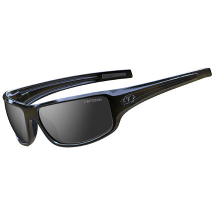 Tifosi Bronx Gloss Black / Smoke Lens