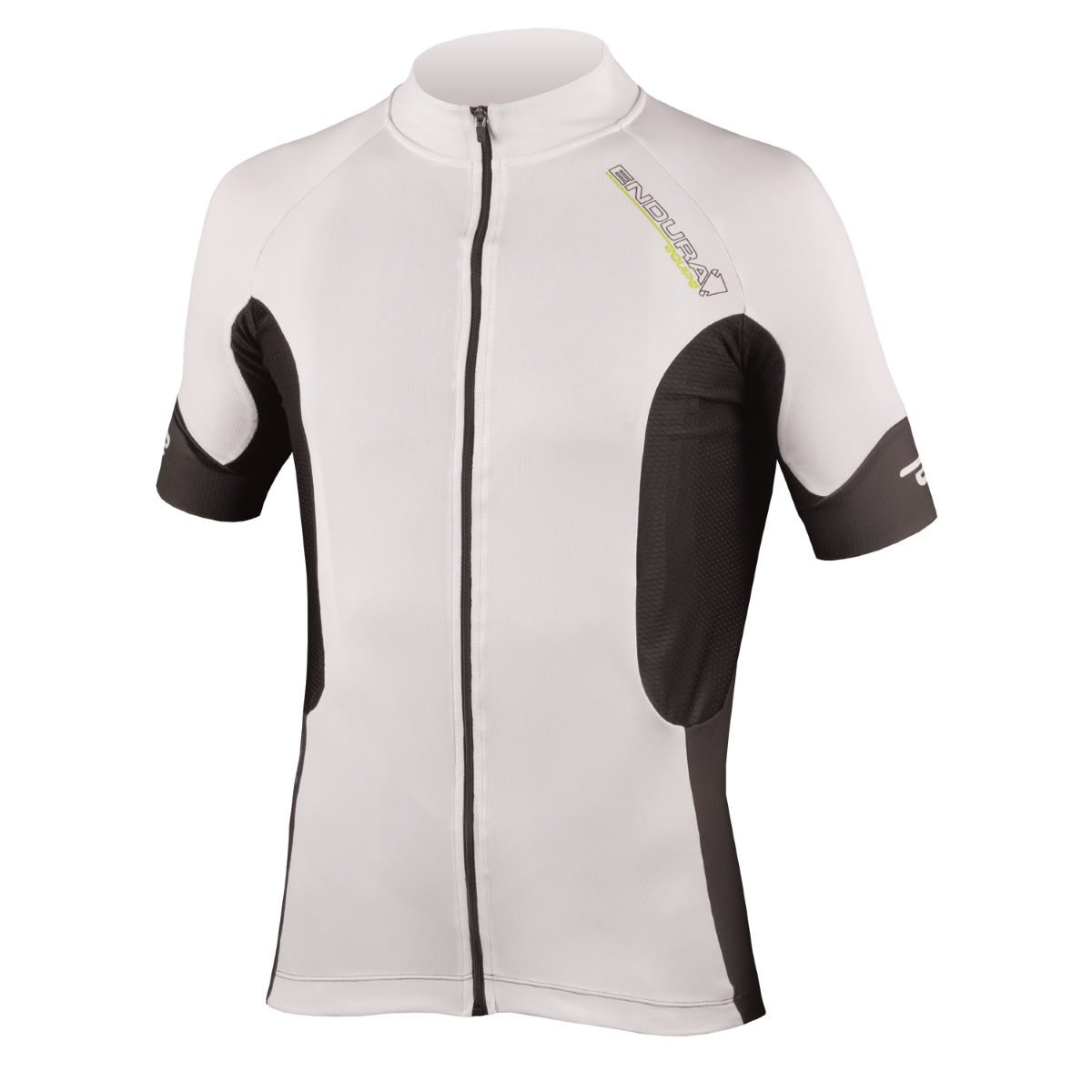 Maillot Endura Helios Competition CB - Small Blanc Maillots vélo à manches courtes