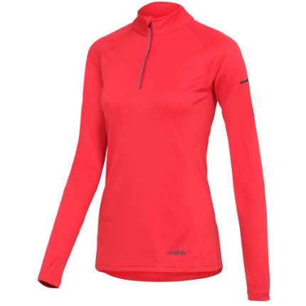 dhb Women's Active Half Zip Run Top