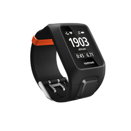 TomTom Adventurer Integrated HRM and Music Multisport GPS