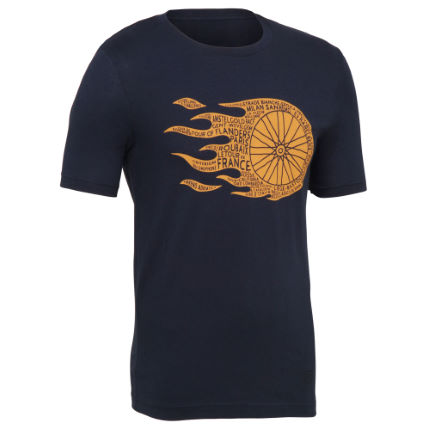 Endurance Conspiracy - Flaming Wheel T-shirt