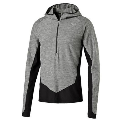 Puma Long Sleeve 1/2 Zip Hooded Top (AW16)