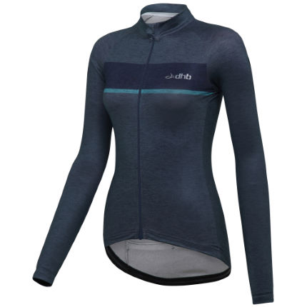 dhb Classic Womens Long Sleeve Thermal Jersey (Marl)