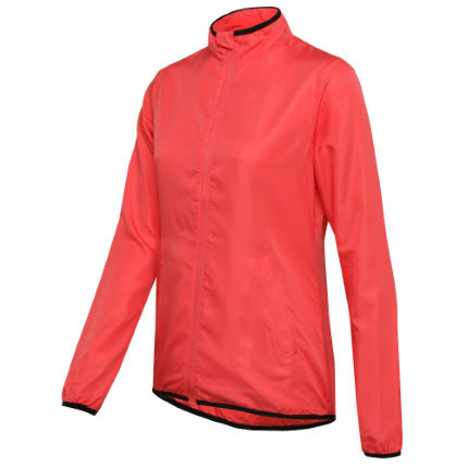 Wiggle Essentials Run Laufjacke Frauen (pink)