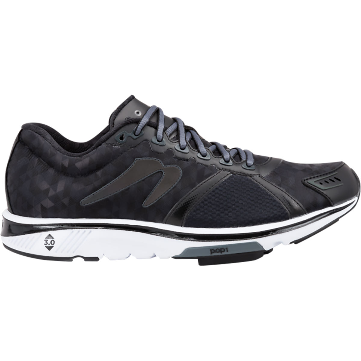 Newton Running Shoes Gravity V Black Shoes (AW16)   Cushion Running Shoes