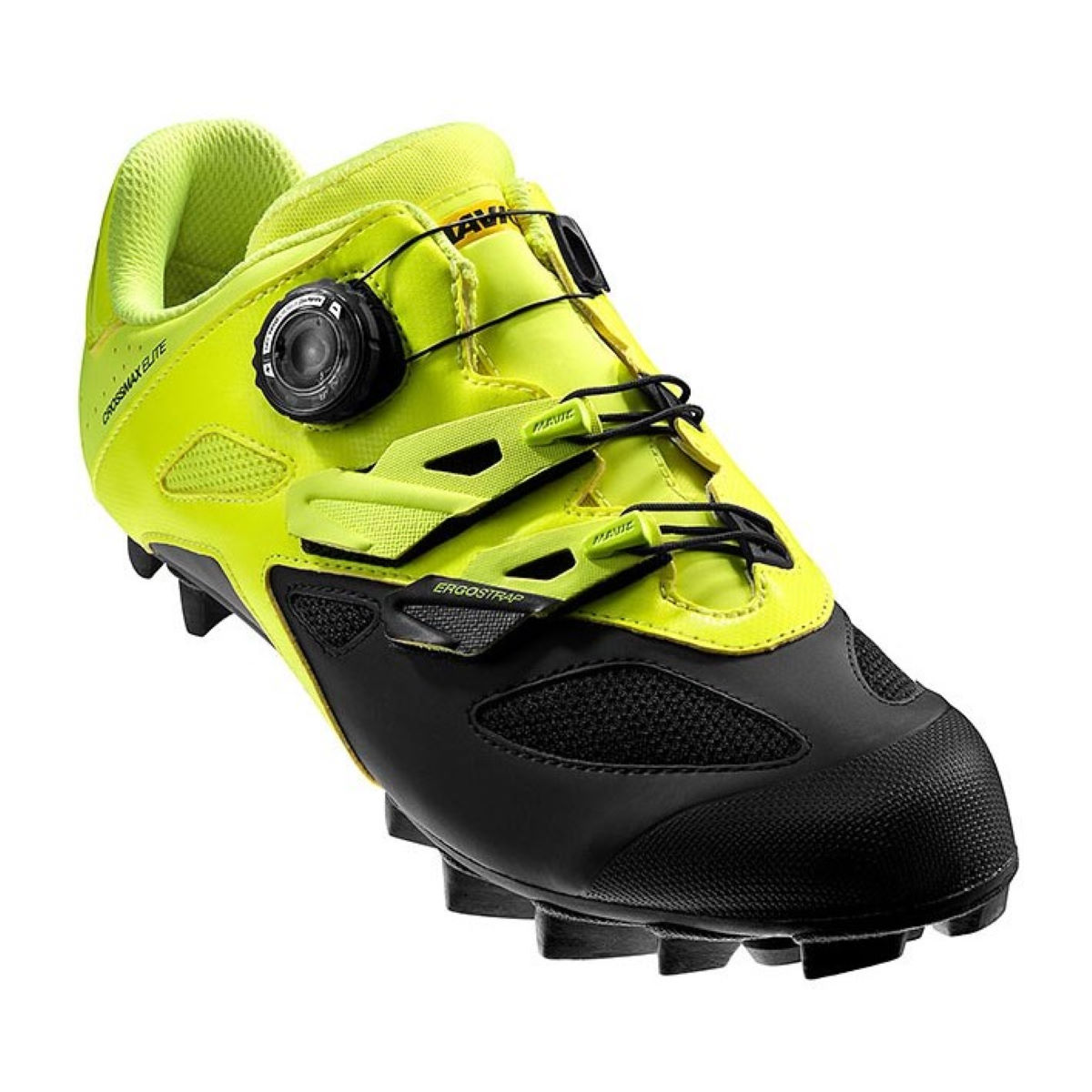 Chaussures VTT Mavic Crossmax Elite - 7 Sfty Yell/Black/Blac