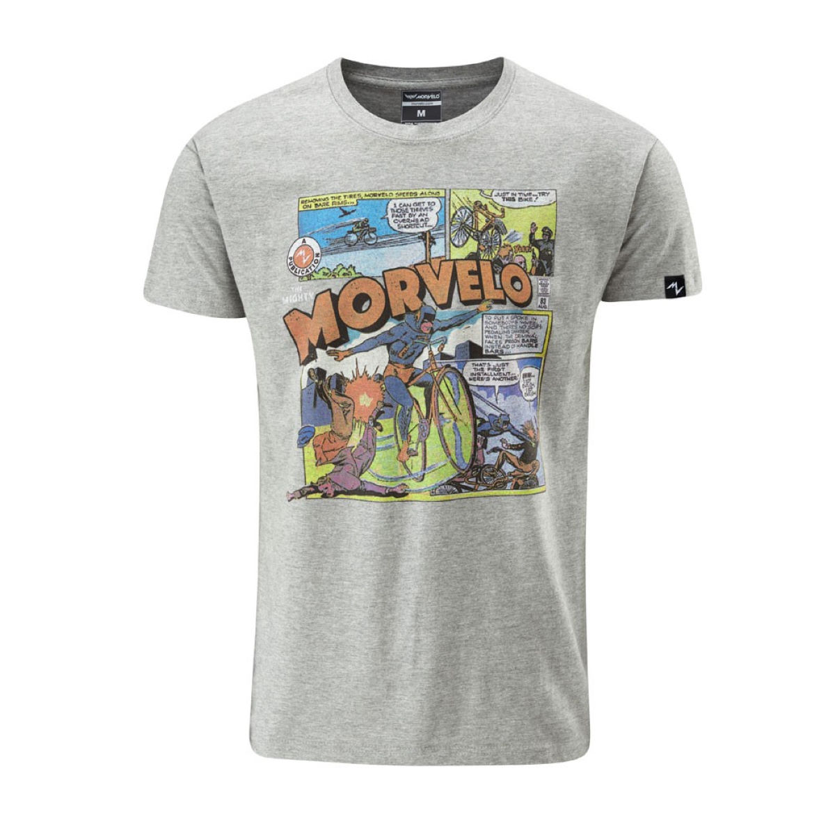 T-shirt Morvelo Mighty - S Noir T-shirts