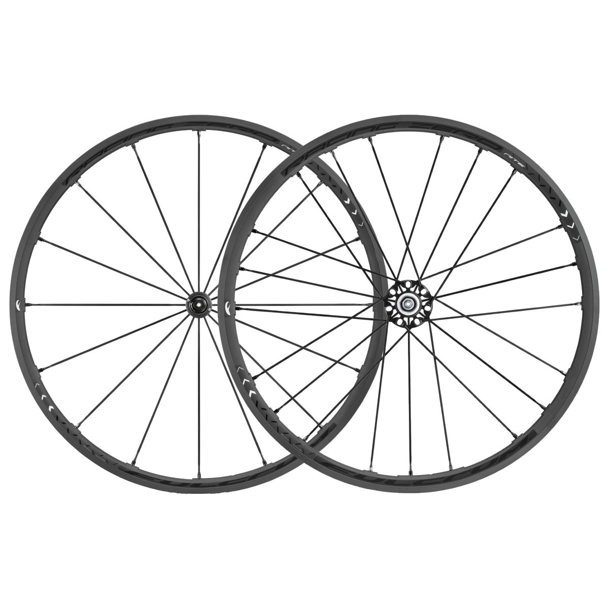 Roue Fulcrum Racing Zero Nite C17 - Campagnolo 10/11 Noir Roues performance